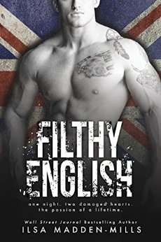book cover for Filthy English by Ilsa Madden-Mills