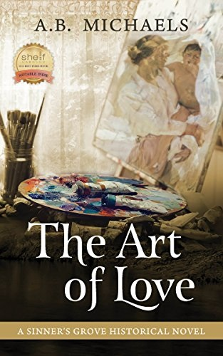 book cover for The Art of Love by A.B. Michaels
