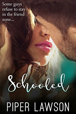 book cover for Schooled by Piper Lawson