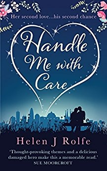 book cover for Handle Me with Care by Helen J Rolfe